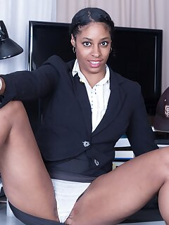 Ebony Secretary Pics